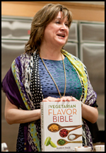 From Melissa's Produce event featuring The Vegetarian Flavor Bible | She Paused 4 Thought