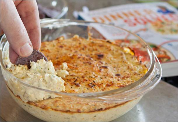 Artichoke Crab Dip | She Paused 4 Thought