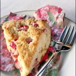 Rhubarb Ginger Scones | She Paused 4 Thought