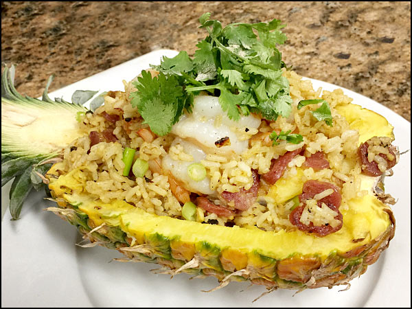 Pineapple Fried Rice   She Paused 4 Thought