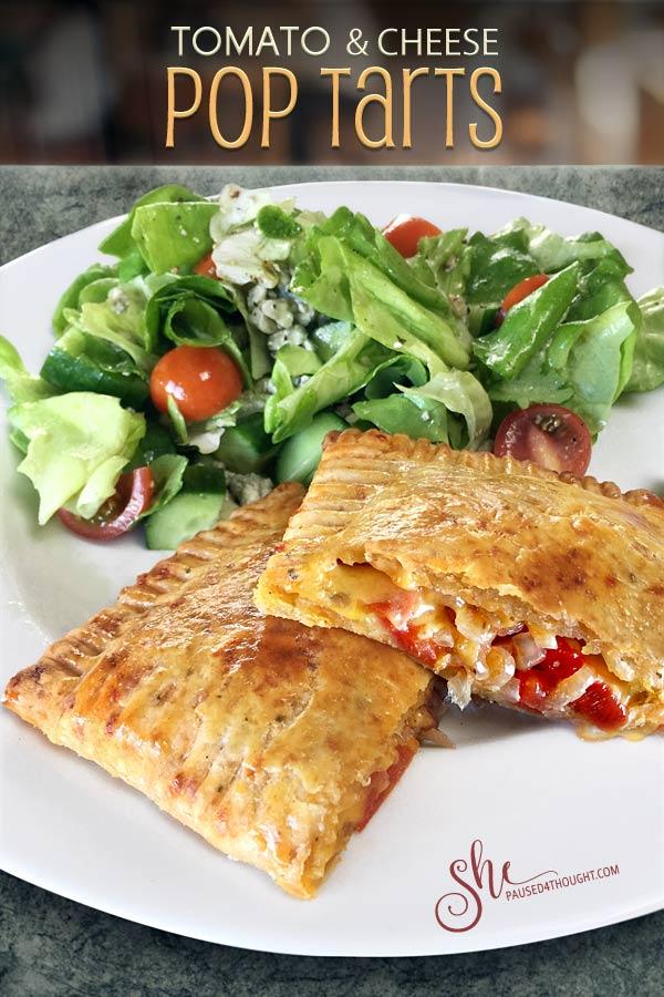 Tomato and Cheese Pop Tart