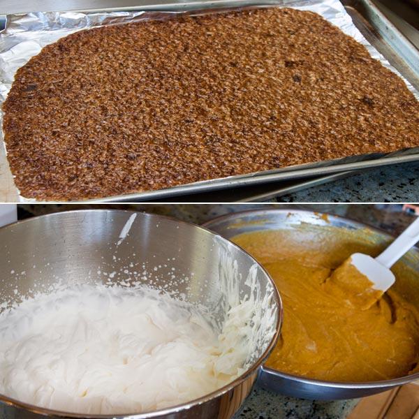 Making Pumpkin Mousse