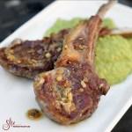 easy pan seared Aussie lamb chops