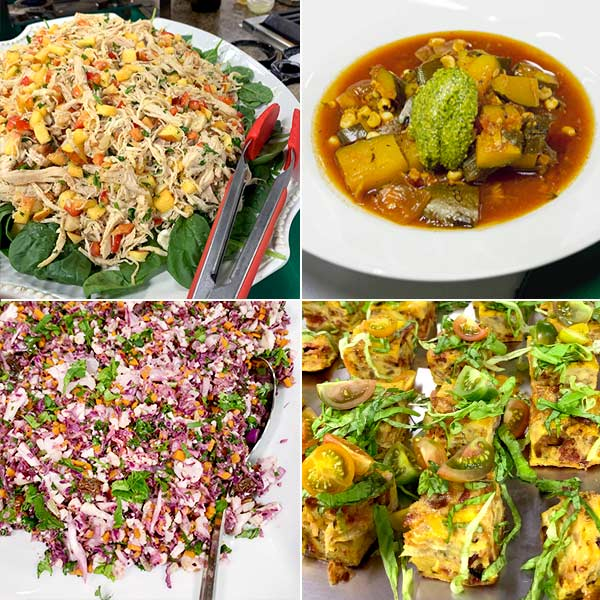 Dishes from The Fresh 20