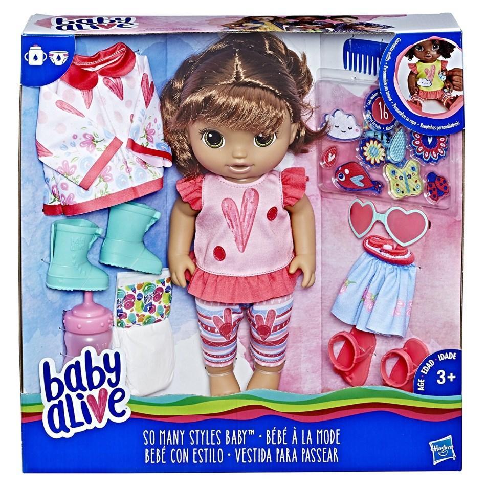 hasbro baby alive styles