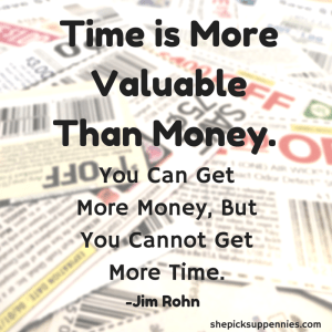 Time is More Valuable Than Money. (2)