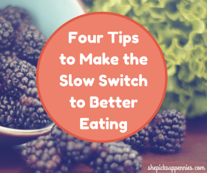 tips to better eating