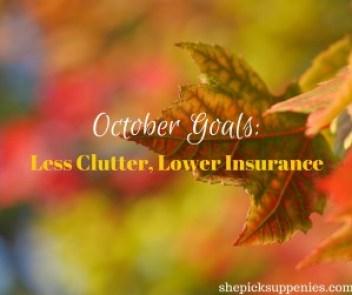 October Goals-