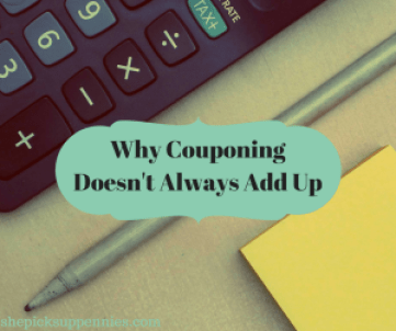 Why Couponing Doesn't Always Add Up