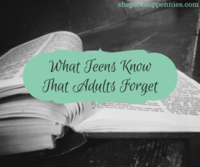 What Teens Know That Adults Forget