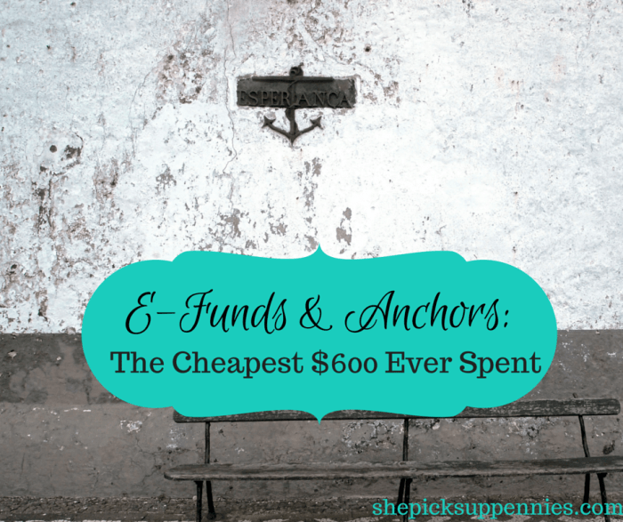 EFunds and Anchors