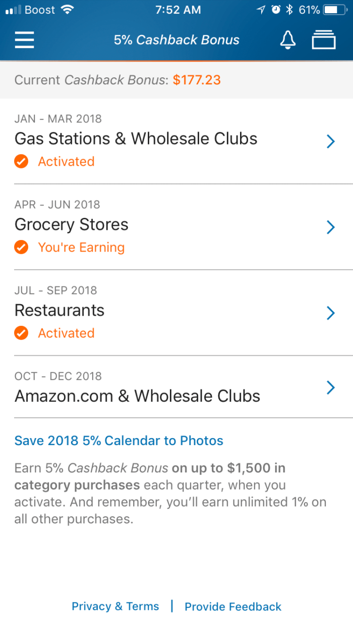 Manufactered Spending on Discover Cards