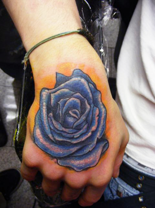 20 Rose Hand Tattoos For Females Ideas And Designs