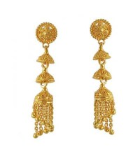 Latest Gold Earrings for Girls | ShePlanet
