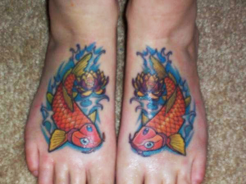 20 Fish Foot Tattoos Ideas And Designs