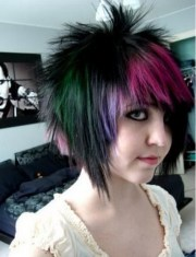 modern cool emo hairstyles