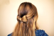fantastic hair bow hairstyles