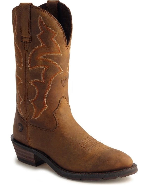 Ariat Ironside Waterproof Pull- Work Boots - Soft Toe Sheplers
