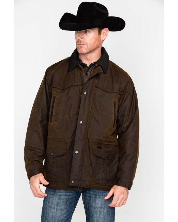 Outback Trading . Oilskin Rancher Jacket Sheplers