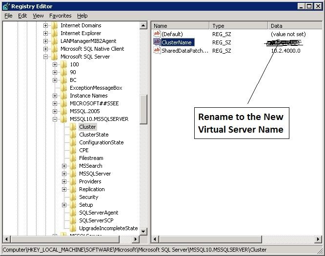 Registry Key Screenshot
