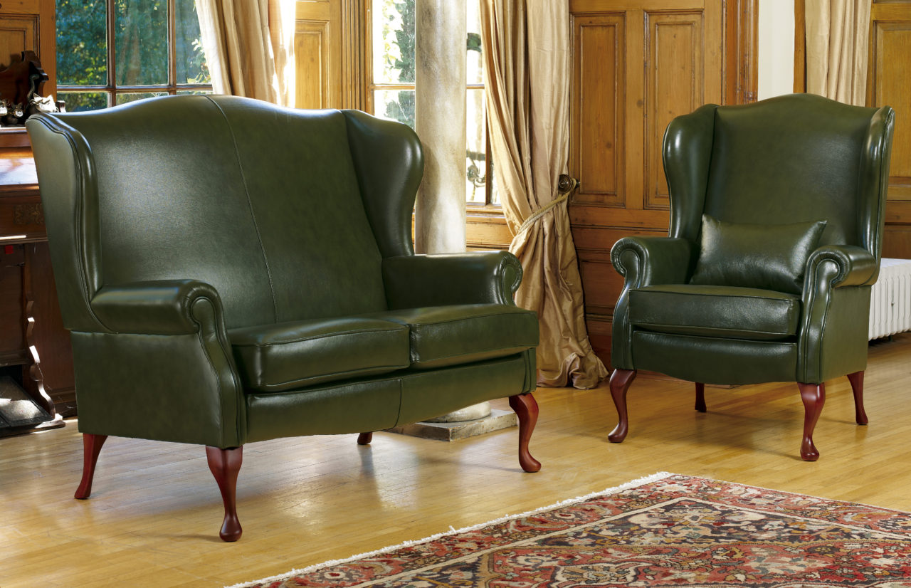 kensington leather chair hardwood floor protector standard fireside sherborne
