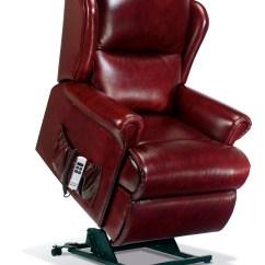 Electric Recliner Sofa Chair Motor Vine Vinyl Malvern Standard Leather Riser