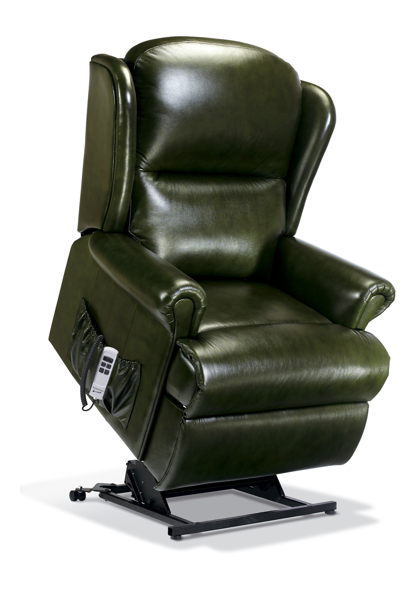 electric recliner sofa chair motor best vacuum cleaner to clean sofas malvern royale leather riser sherborne