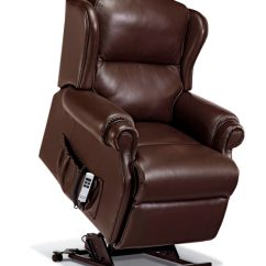 Small Lift Chairs Recliners Universal Chair Covers Amazon Claremont Leather Electric Riser Recliner - Sherborne Upholstery