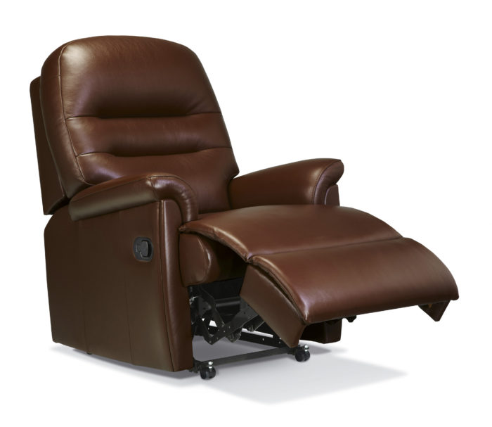 Keswick Small Leather Recliner  Sherborne Upholstery