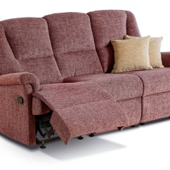 Small 2 Seater Sofa Mart Cloud Reviews Milburn Fabric Reclining 3-seater Settee - Sherborne ...