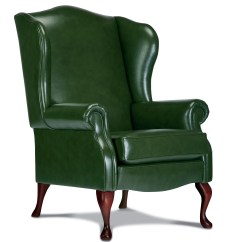 Kensington Leather Chair Parsons Chairs With Arms Standard Fireside Sherborne