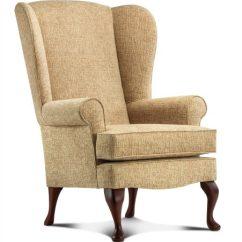 Chair Covers Leeds Sweet 16 Kensington Standard Fabric Fireside - Sherborne Upholstery