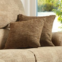 Kensington Leather Chair Rocking Pillows Fabric Scatter Cushions - Sherborne Upholstery