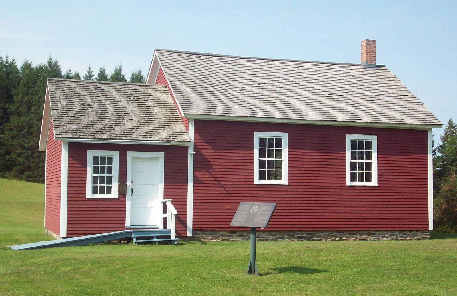 Visitors Welcome At The Little Hyatt One Room Schoolhouse