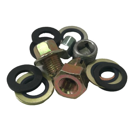 small resolution of oil drain plugs gaskets
