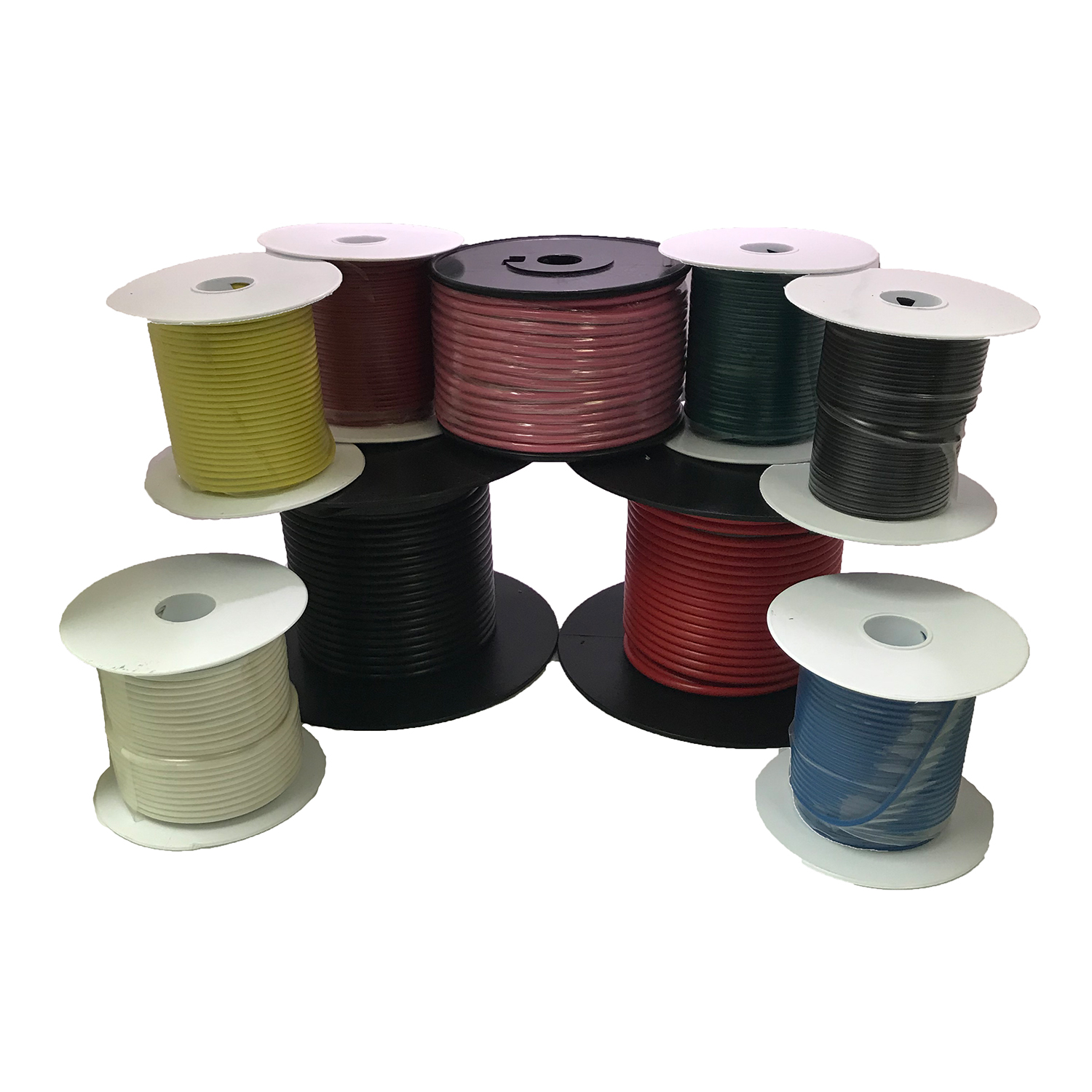 hight resolution of automotive primary wire spools and assortments