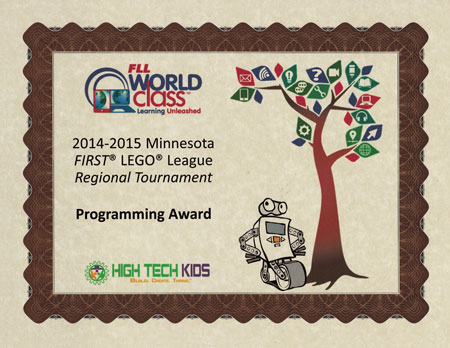 JP2 Rockslides Regional Programming Award