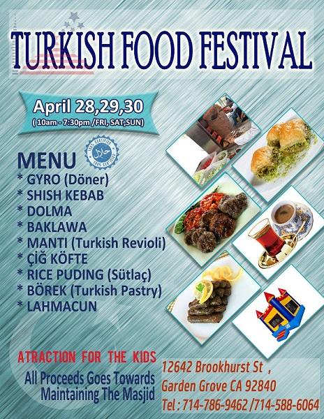Turkish Food, Turkish Culture Times Two