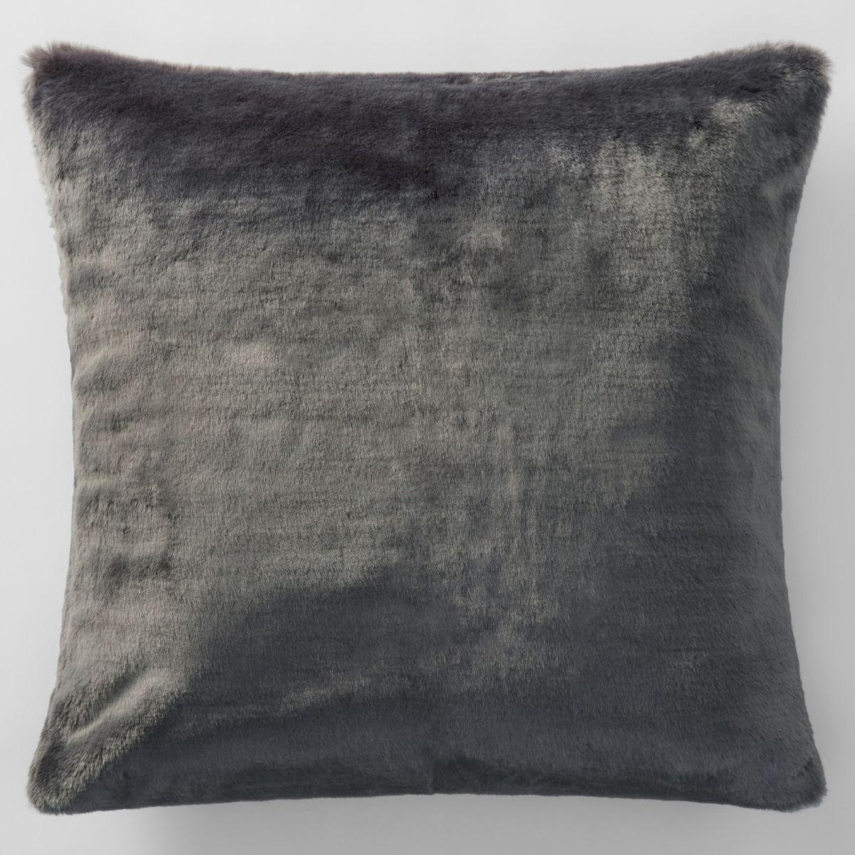 dalmar faux fur european pillowcase