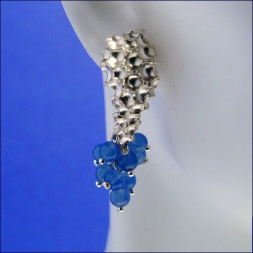 La Sirena earrings front view