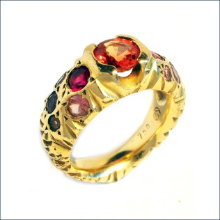 Renaissance wedding ring