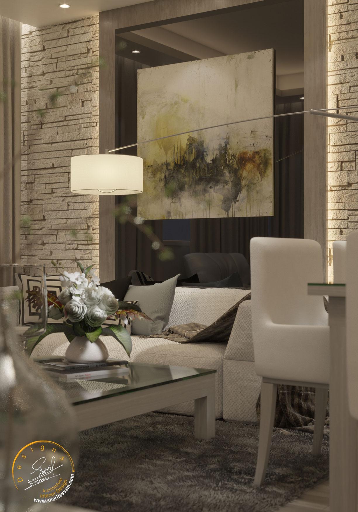Apartment 202 – Sherif Essam Designs Lacasa Constructions
