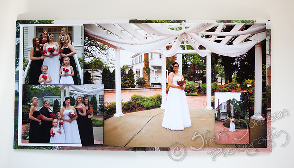 Fine Art Wedding Book - Full Panoramic Lay Flat Spreads