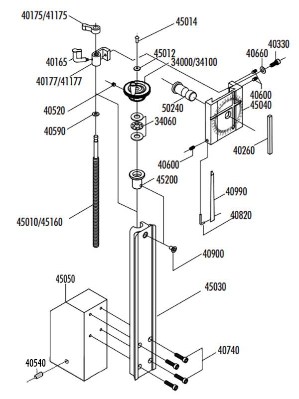 Lathe Vertical Milling Column – Manual