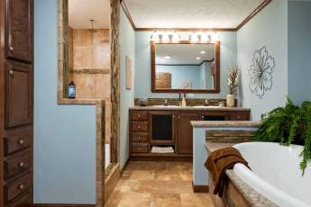 New Moon Master Bathroom and Serenity Shower