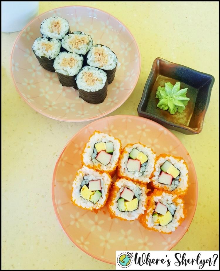 Brunei Restaurants: Tried some maki at Patisserie Cakeshop :)