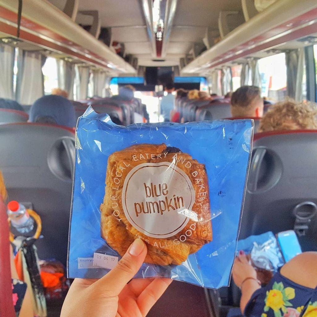 SOUTHEAST ASIA FOOD: Blue Pumpkin Bread Cambodia (Khmer Food)