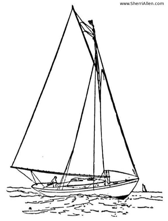 Free Transportation Coloring Pages from SherriAllen.com