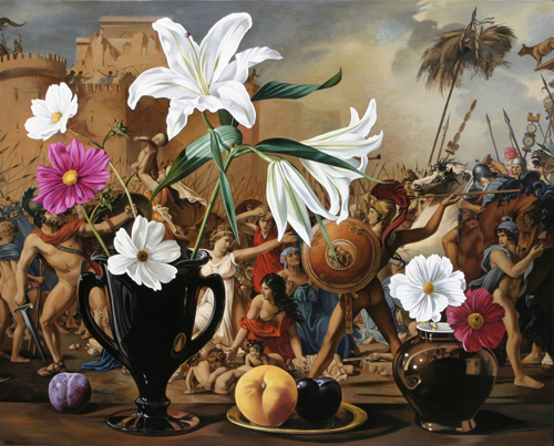 Still Life with Sabine Women After David