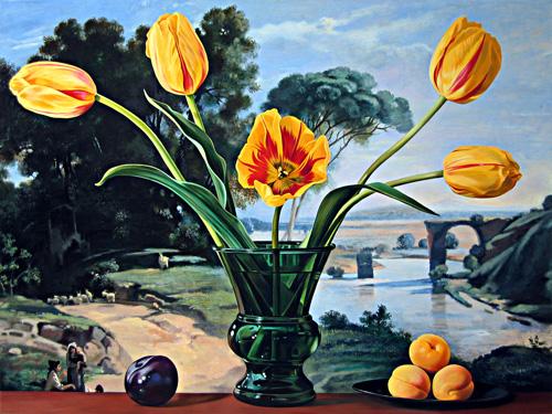 Yellow Tulips at Narni